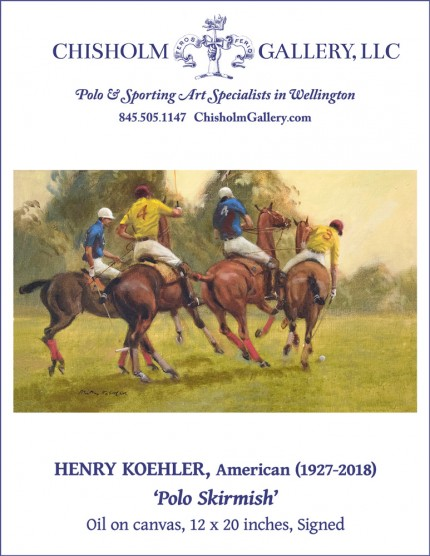 "Henry Koehler ""Polo Skirmish"""