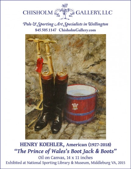 "Henry Koehler ""The Prince of Wales Boot Jack & Boots"""