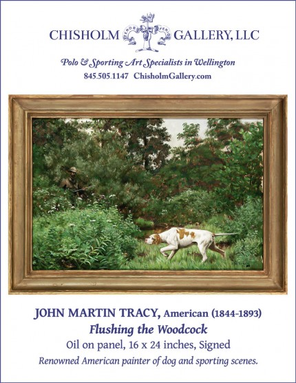"John Martin Tracy ""Flushing the Woodcock"""