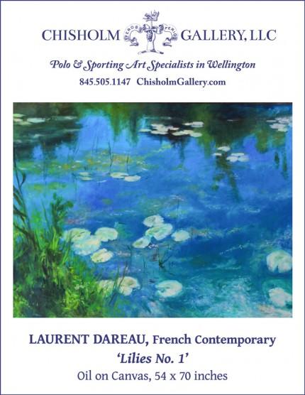 """Laurent Dareau """"Lilies no. 1"""""""