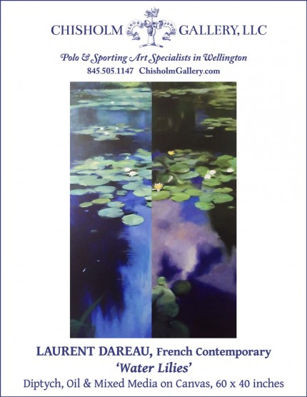 "Laurent Dareau ""Water Lilies"""