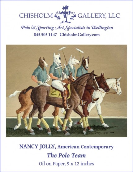 "Nancy Jolly ""The Polo Team"""