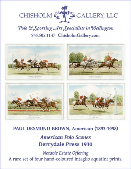"Paul Desmond Brown ""American Polo Scenes"""