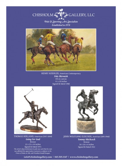 Henry Koehler and Bronze Collection: Lorne McKean and Thomas Holland