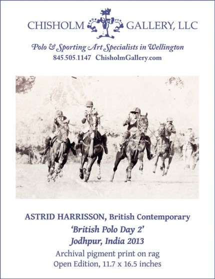 "Astrid Harrisson ""British Polo Day 2"""