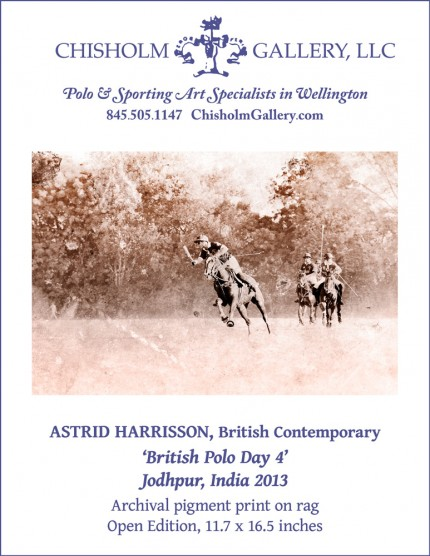 "Astrid Harrisson ""British Polo Day 4"""