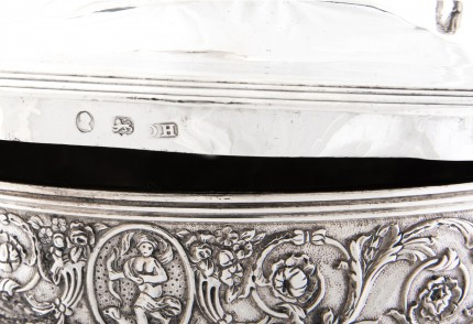 """George IV Presentation Cup by Rebecca Emes & Edward Barnard, c. 1824"" Sterling Silver, 14 x 17 inches, 122.41 oz"