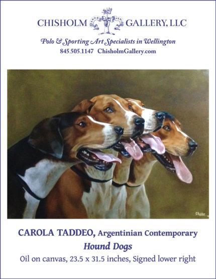 "Carola Taddeo ""Hound Dogs"""
